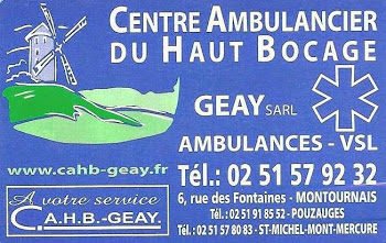 Centre Ambulancier du Haut Bocage